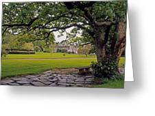 The Sundial Terrace, Glin Castle, Co Greeting Card