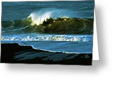 The Surf Motel Greeting Card