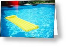 The Swimming Pool Greeting Card