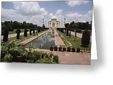 The Taj Mahal In Agra, India Greeting Card