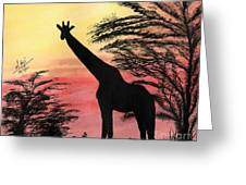 The Tall One Greeting Card