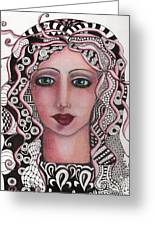 The Tangled Woman Greeting Card