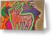 The Taurus Greeting Card