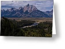 The Tetons - Il Greeting Card