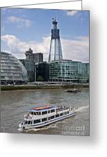 The Thames London Greeting Card