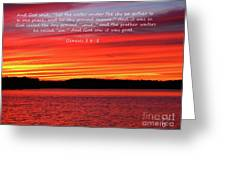 The Third Day Greeting Card
