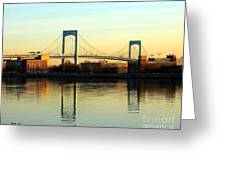The Throggs Neck Bridge Greeting Card