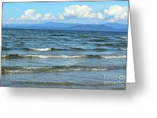 The Tide Was High Greeting Card