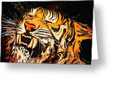 The Tiger Greeting Card