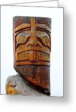 The Totem Canada Greeting Card