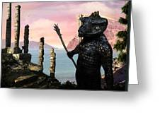 The Tower Guard Greeting Card