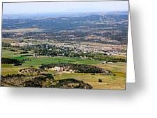 The Town Of Mancos Greeting Card