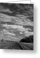 The Tracks Greeting Card
