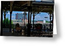 The Trainstation In Nashville Greeting Card