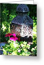 The Tranquil Garden Greeting Card