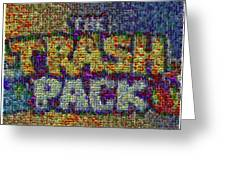 The Trash Pack Eyeball Mosaic Greeting Card