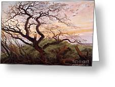 The Tree Of Crows Greeting Card
