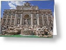 The Trevi Fountain Greeting Card