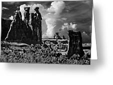 The Tribunal Arches National Park Greeting Card