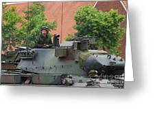 The Turret Of The Leopard 1a5 Main Greeting Card