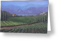 The Tuscanesque Valley Greeting Card