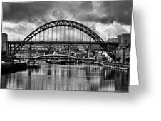The Tyne Bridges Greeting Card