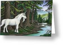 The Unicorn Myth Greeting Card