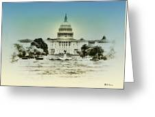 The United States Capital Building Greeting Card