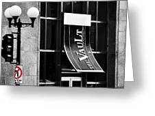 The Vault St Johns Greeting Card