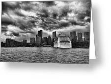 The View To Circular Quay Greeting Card