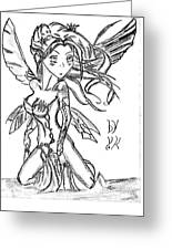 The Voluptuous Fairy  Greeting Card