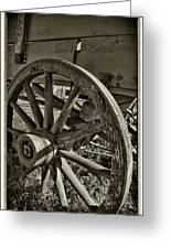 The Wagon Wheel Greeting Card