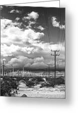 The Way Of The Wind Palm Springs Greeting Card