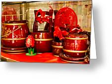 the Wedding Gifts Shop at the Qibao Ancient Town Greeting Card