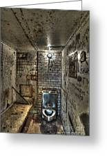 The West Virginia State Penitentiary Cell Greeting Card