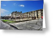 The West Virginia State Penitentiary Courtyard Outside Greeting Card