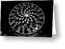 The Wheel That Ferris Built Greeting Card