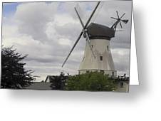 The White Windmill Greeting Card