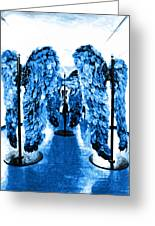 The Wings Of Fallen Angels Greeting Card