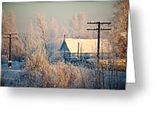 The Winter Country Greeting Card