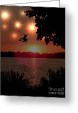 The Woodmere Witch Greeting Card
