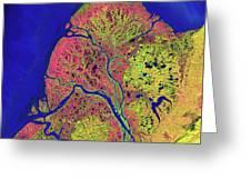 The Yukon Delta In Southwest Alaska Greeting Card