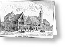 Theological Seminary, 1884 Greeting Card