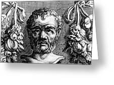 Theophrastus, Ancient Greek Polymath Greeting Card
