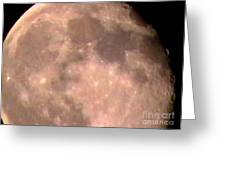 Theres A Moon Out Tonight Greeting Card