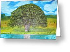 Thinking Tree Greeting Card