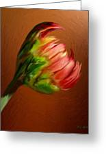 This Broken Blossom Greeting Card