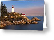 This Is British Columbia No.62 - Point Atkinson Lighthouse Point Greeting Card