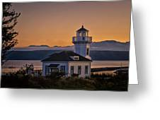 This Is Washington State No. 11 - Port Townsend Light House Greeting Card