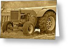 This Old Tractor Greeting Card
